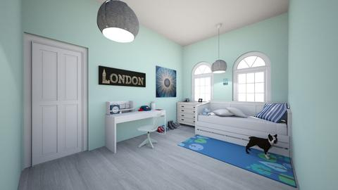 Tomboy Room - Classic - Bedroom - by Chicken202