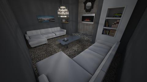 Modern Lounge 2 - Living room  - by riordan simpson