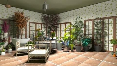 Garden - Vintage - by Ruta Gabriele