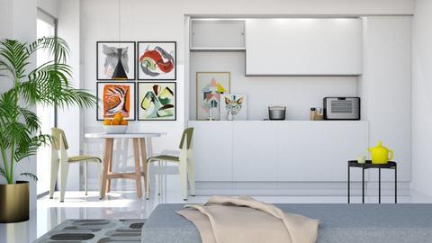 Minimal Kitchen n Dining - Minimal - Dining room  - by HenkRetro1960
