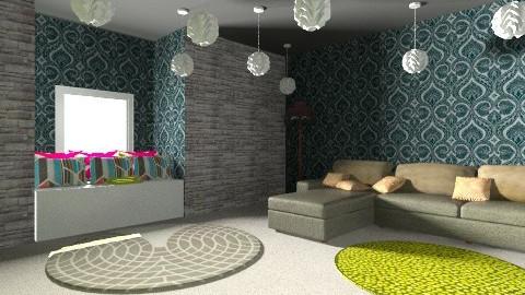 lime - Vintage - Living room  - by j_erskine