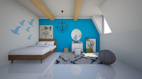 Blue Sea - Bedroom - by MD Builder