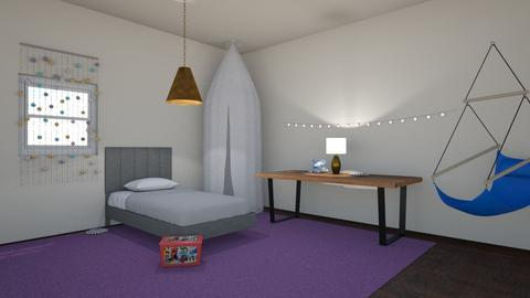Kids Bedroom Contest_ash - Bedroom  - by Ashley_Daigle