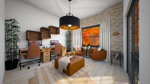 Autumn Office Deco - Office - by aq123