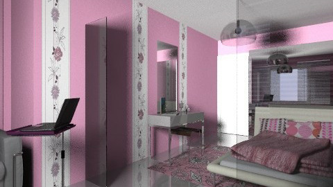 min pink flowrer1 - Minimal - by chania
