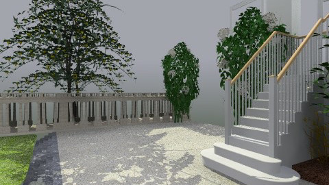 Staircase - Eclectic - Garden  - by PomBom