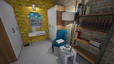 Cosy apartment Bedroom - Bedroom  - by MackenziePaige