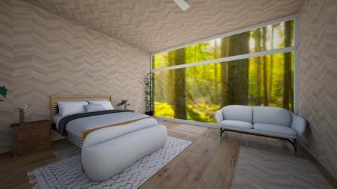 outdoor attic - Bedroom  - by ZoeyMatt
