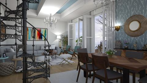 Classico - Living room  - by Roberta Coelho