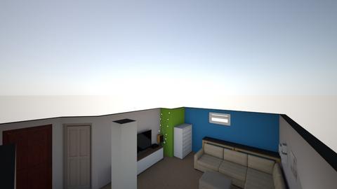 Movie Room - Modern - Kids room  - by Peter Gartner