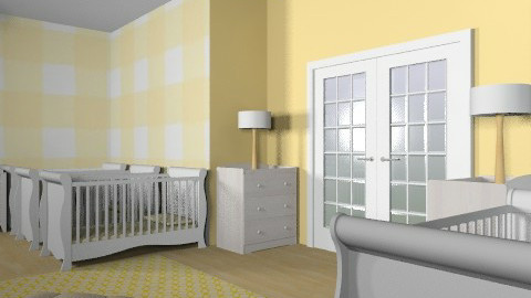 sextuplets - Minimal - Kids room  - by shish