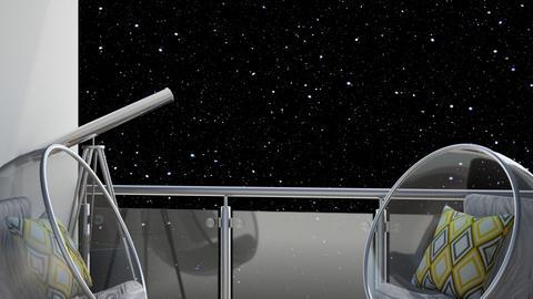 Stargazer Skies - Garden  - by KittyKat28