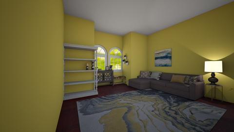golden happieness - Living room - by wolfiewolf123