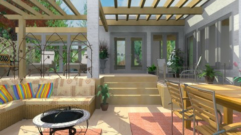 Terraces and Patio - Modern - Garden - by Bibiche