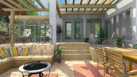 Terraces and Patio - Modern - Garden  - by Bibiche