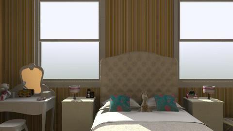 cute - Bedroom  - by Liya Zohar