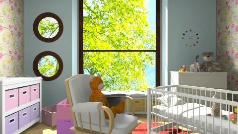 Katy - Kids room  - by Flzh K