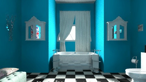 funky - Retro - Bathroom - by vintagevanity