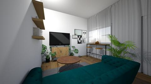 Loise Kioko_LR2 - Living room - by Muthue