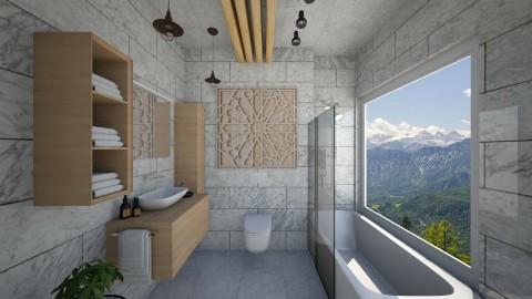 White Escape - Bathroom  - by Faye Dela Cruz