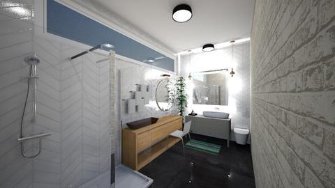 mid cen modern bathroom - Bathroom - by 27liedtke