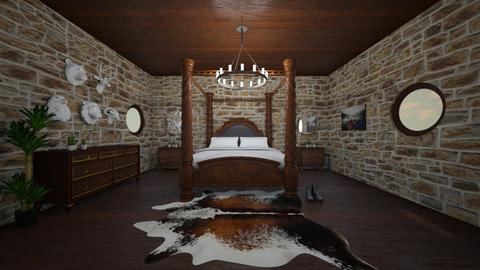 country - Country - Bedroom  - by belle alderton