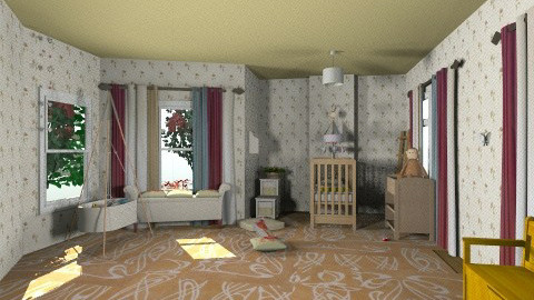 cuarto de leandra - Country - Kids room  - by oliricescarraman