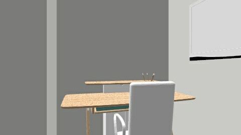 My Room  - Minimal - Bedroom  - by MarcosEscobarRamirez