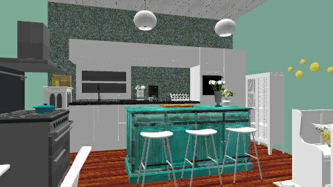 Beautiful kitchen - Rustic - by Taylund13