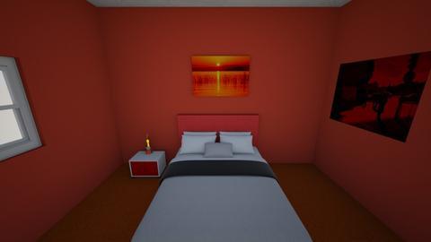 Guest Room 3 - Masculine - Bedroom  - by Bunnykat124