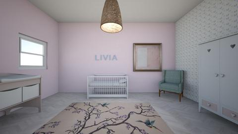 baby bedroom - Bedroom  - by Amy Robberts