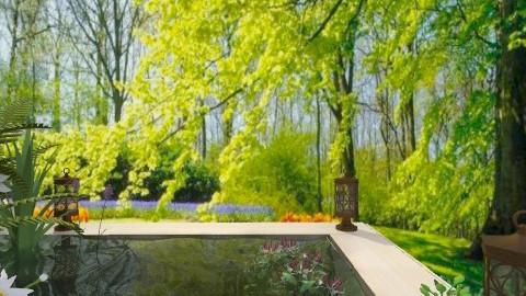 Le petit bassin - Garden  - by Bibiche