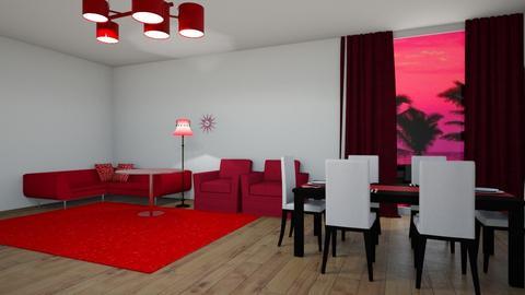 Red Bedroom - Bedroom  - by gamewiner