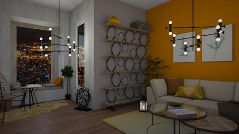 Sunflower Inspired LR - Classic - Living room  - by Hannah_4647