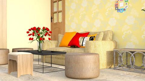 Darshan New - Rustic - Living room  - by jiltsheth