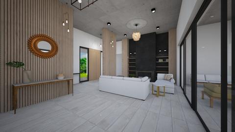 muro en estar - Kitchen - by pipipiccirilli