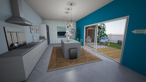 Sea inspired Kitchen - Kitchen  - by Foleyburns10