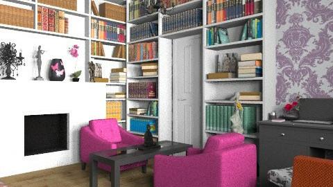 The Sleepy Study  - Modern - Office  - by poth_lilliam