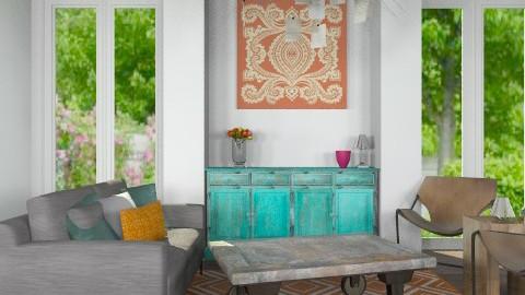 Modern Living - Vintage - Living room - by noahboo62