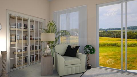 Cream Dream - Modern - Living room  - by Irishrose58