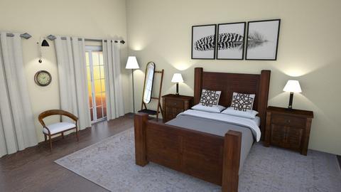 Wooden Room - Bedroom  - by Kopiman