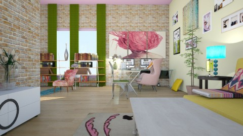 GIRL CAVE  - Eclectic - by decordiva1