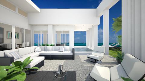 Modern villa - Garden  - by Lizzy0715