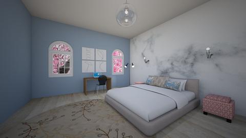 Teen Bedroom - Modern - Bedroom  - by alibutts