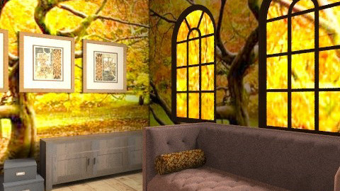 Autumnal Sitting Room - Country - Living room  - by BambooPenguin