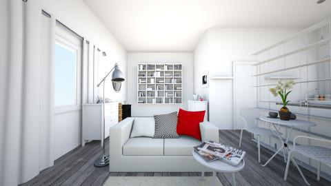 Lodzkie wnetrze - Living room - by Inesia