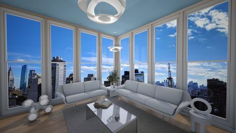 minimalist irregular - Living room  - by eby_bond