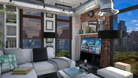 Industrial - Modern - Living room  - by Nikola Simic