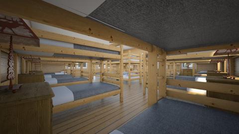 Camp Cedar Point 8 - Bedroom  - by SammyJPili