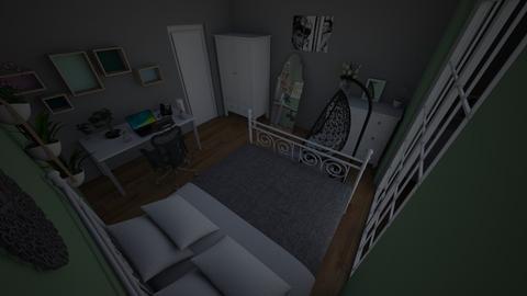 pokoj dzudziji - Bedroom  - by wagoon2